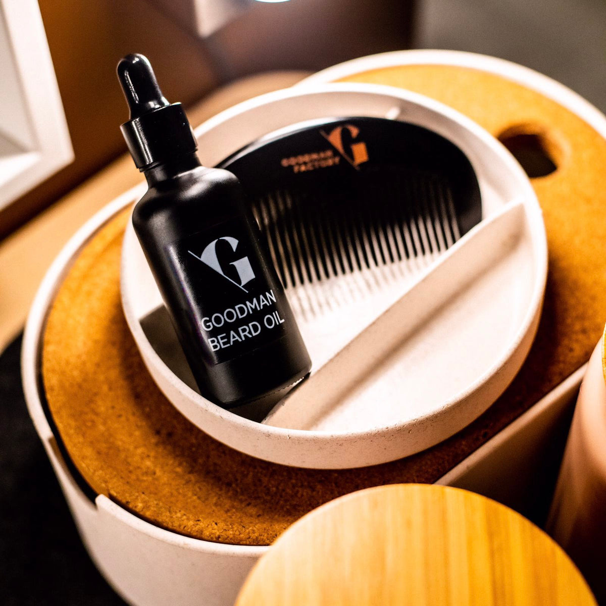 GOODMAN BEARD CARE COMB CAPSULE
