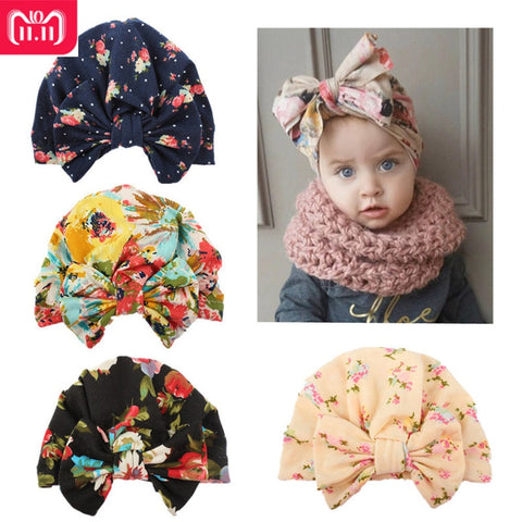 Cute Newborn Baby Hat With Bow - Gianni&Guys Closet