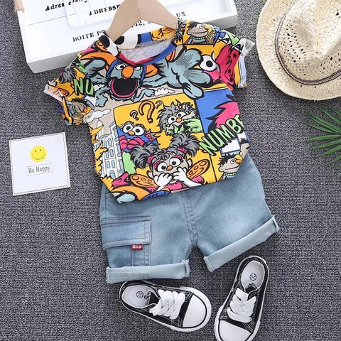 Multicolored Cartoon Set - Gianni&Guys Closet