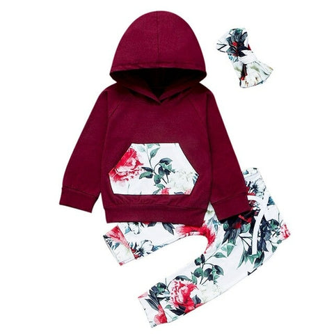 Red Hot Floral Set - Gianni&Guys Closet