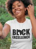 Black Excellence T-Shirt - Gianni&Guys Closet