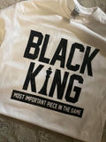 Black King T-Shirt - Gianni&Guys Closet