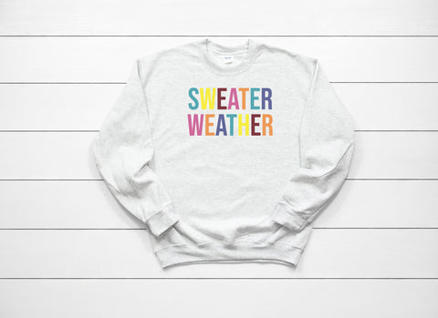 Sweater Weather Sweatshirt - Gianni&Guys Closet