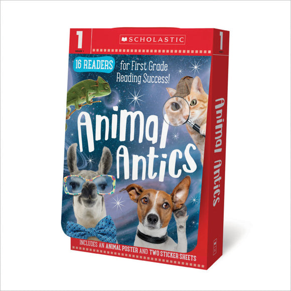 Scholastic Early Learners: Animal Antics Grade 1 E-J Reader Box Set