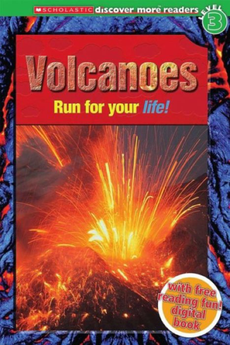Scholastic Discover More Reader Level 3: Volcanoes