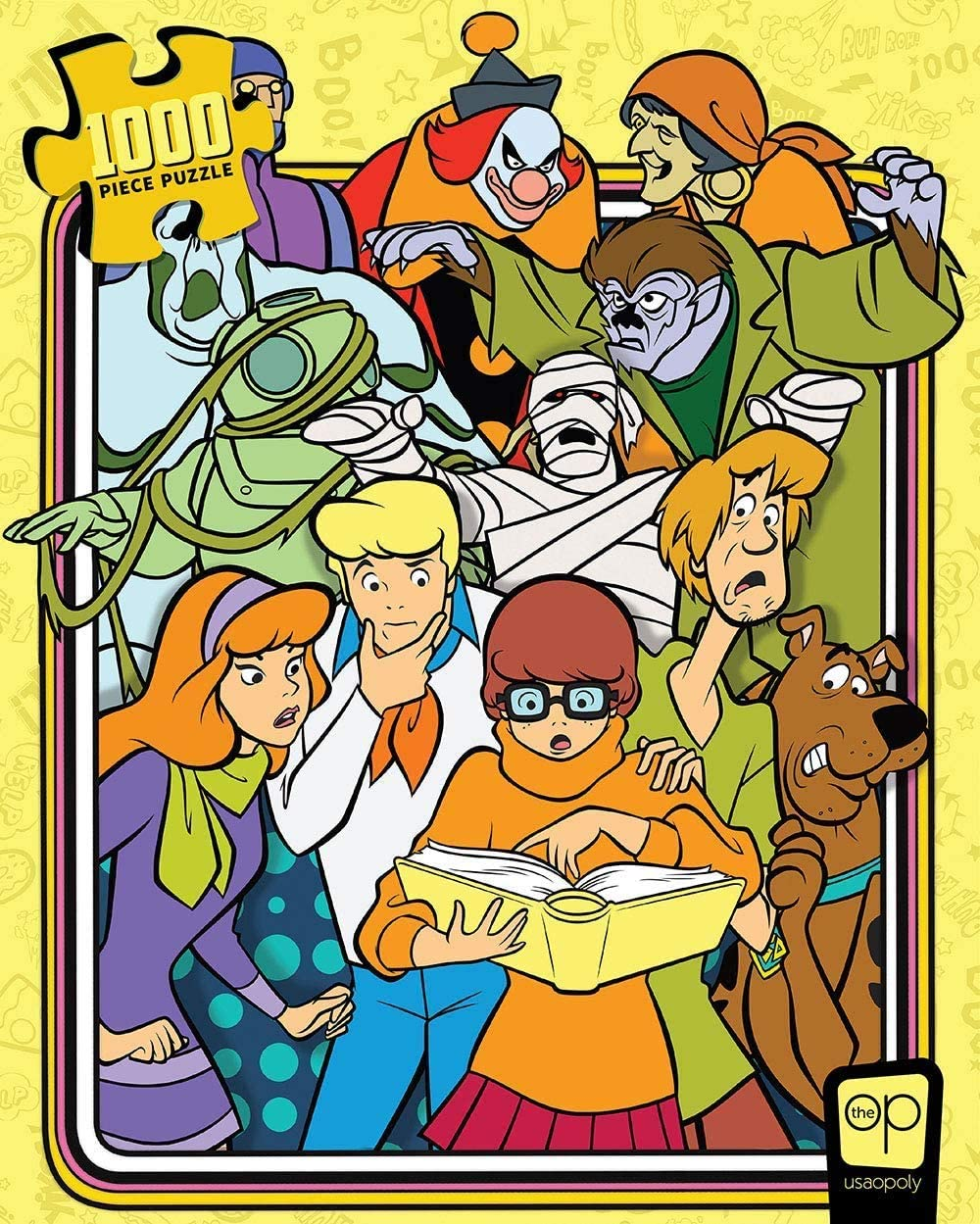 Scooby-Doo Those Meddling Kids 1000 Piece Jigsaw Puzzle