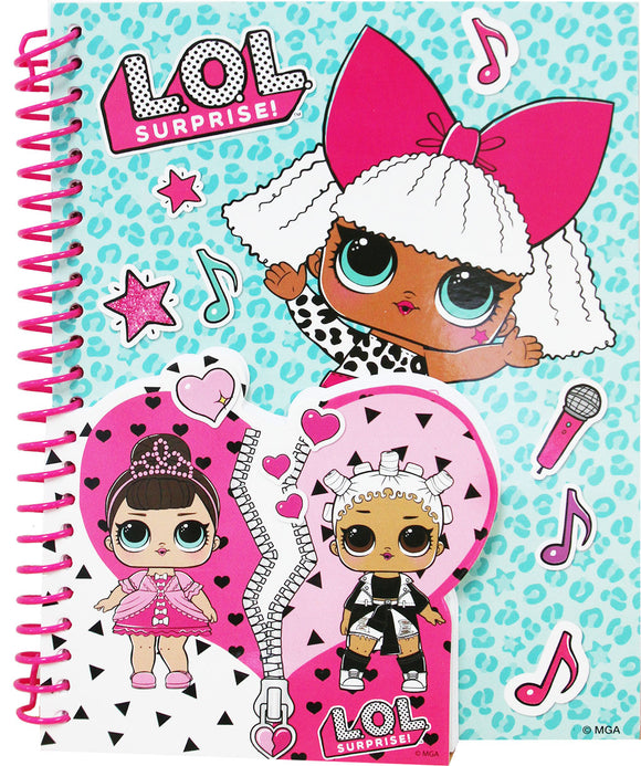 L.O.L. Surprise! Notebook and Little Notebook