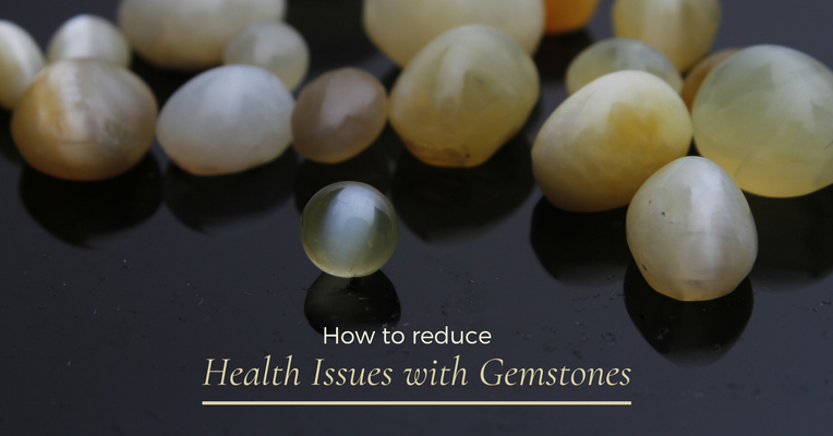 How to Reduce Health Issues with Gemstones