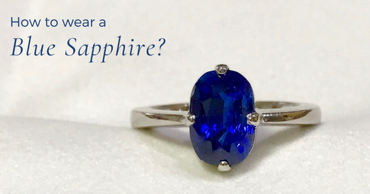 Can I wear Blue Sapphire in Gold? Read to know the best metal for Blue Sapphire.