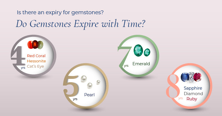 Is there an expiry for gemstones? Do Gemstones Expire with Time?