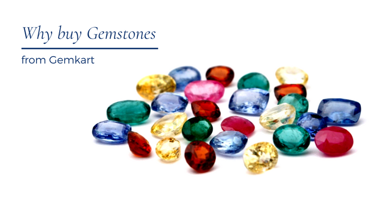 Why buy gemstones online from Gemkart?