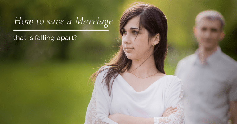How to save a marriage that is falling apart?