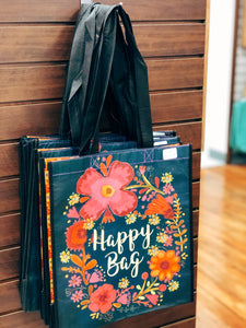 """Happy Bag"" Tote"