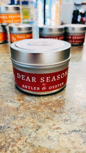 Load image into Gallery viewer, Antler & Oyster Tin Candles—Fall Scents