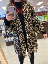 Load image into Gallery viewer, Cheetah Kimono