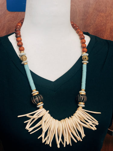 Coconut Wood Necklace