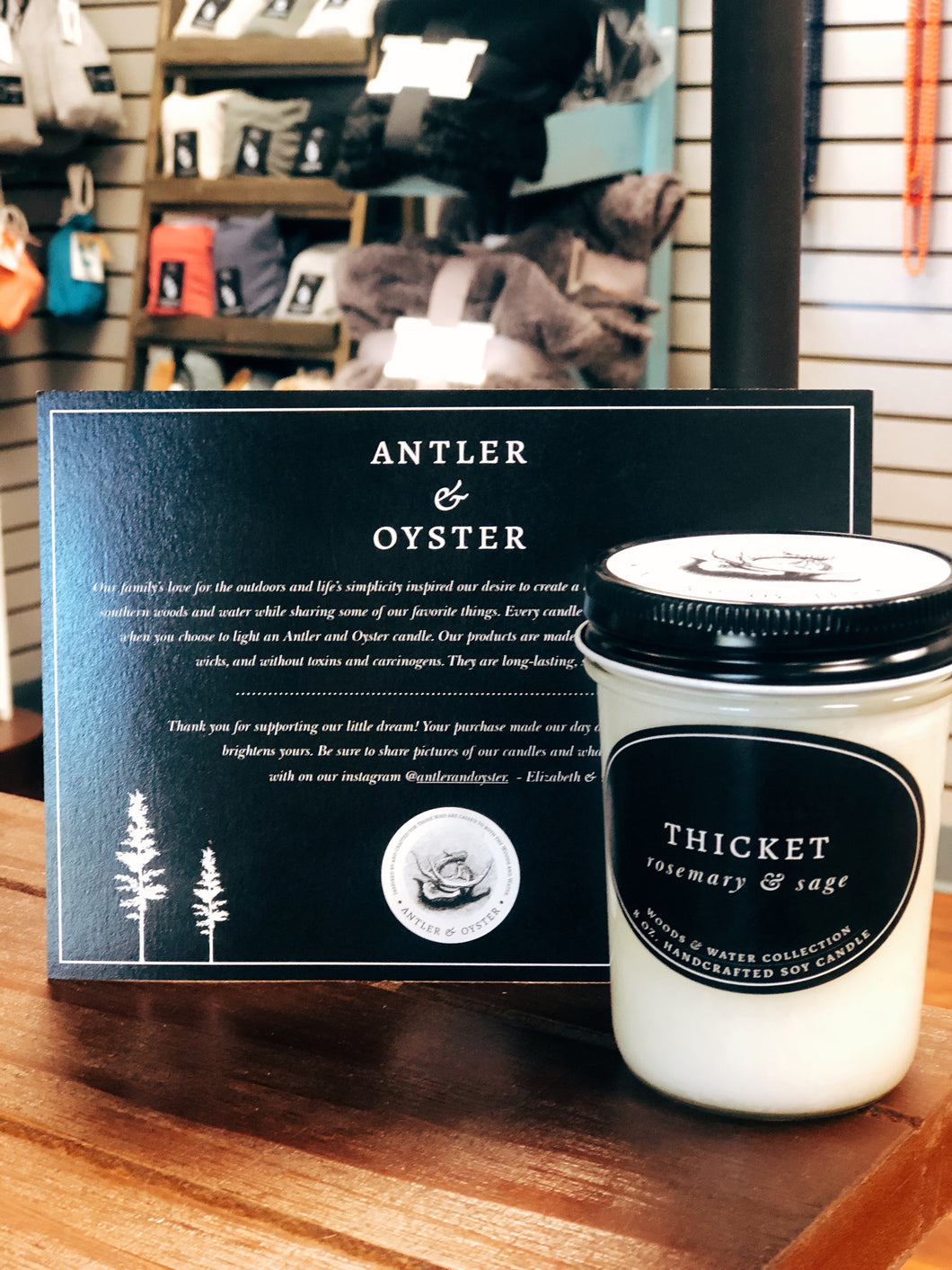 Antler & Oyster—Thicket