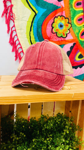 Washed Denim CC Hat