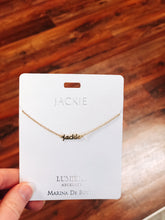 Load image into Gallery viewer, Name Necklaces—Letters A-C