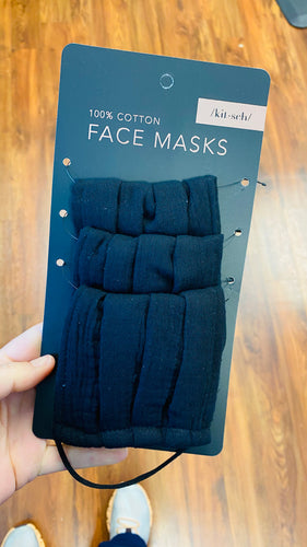 Kitsch Facemasks—3 pack