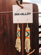 Load image into Gallery viewer, Beaded Fringe Earring—Petite