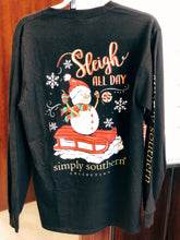 Load image into Gallery viewer, Sleigh All Day Long Sleeve Tee