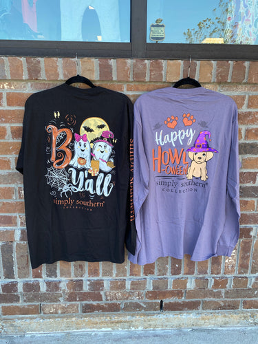 Boo Y'all Halloween Tee