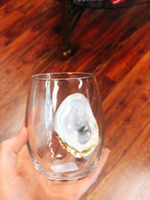 Load image into Gallery viewer, Oyster Wine Glass