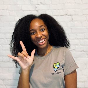 For Chambers Feature: Kaiya Williams - Entrepreneur, Podcast Host, and American Sign Language Student