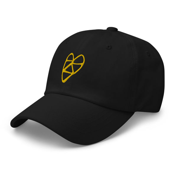 For Chambers Golden Heart Hat