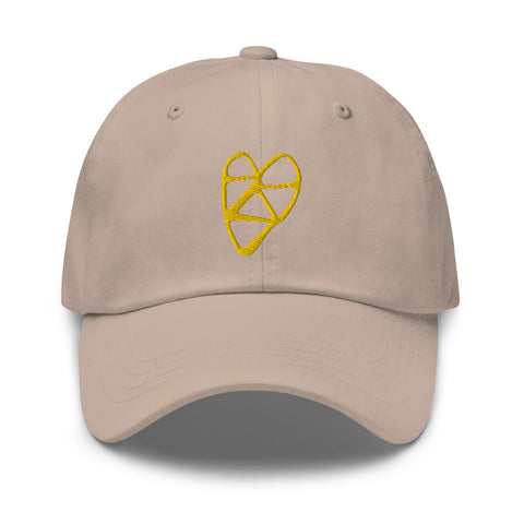 Golden Heart Hat
