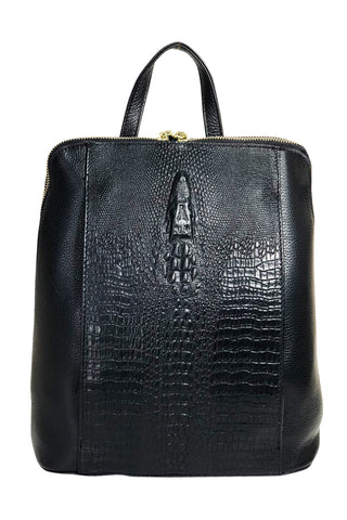 Daphne 2-Way Leather Backpack - Jon Louis