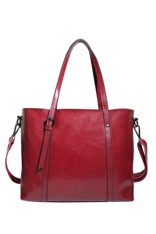 Emily Leather Tote - Jon Louis