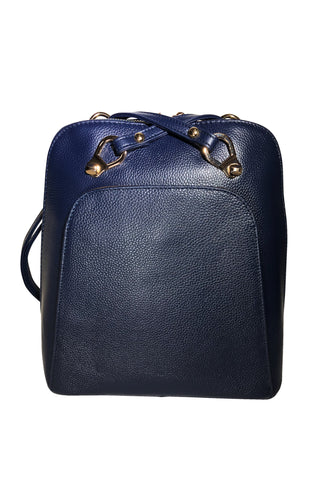 Macy 2-Way Leather Backpack - Jon Louis