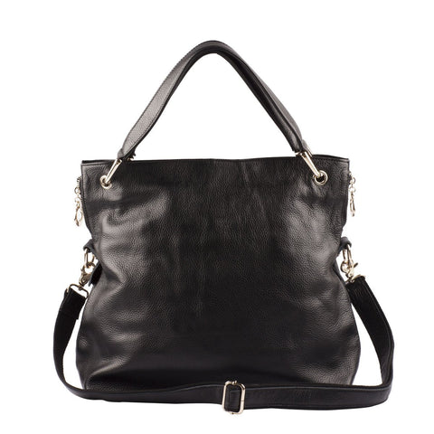 Danielle Leather Shoulder Bag - Jon Louis