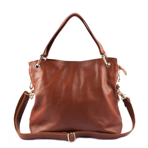 Danielle Leather Shoulder Bag