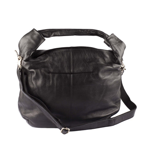 Amanda Leather Hobo Bag