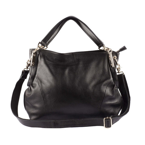 Charlotte Leather Hobo Bag