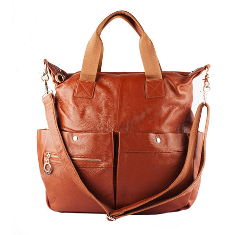 Natalie Leather Bag - Jon Louis