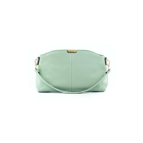 Elizabeth Leather Clutch - Jon Louis