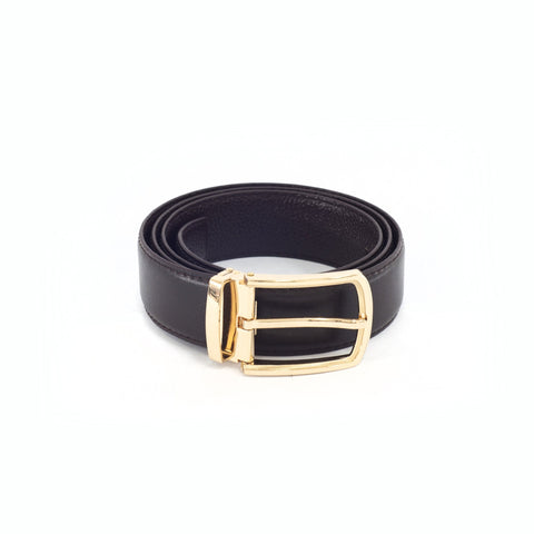 Wyatt Leather Buckle Belt