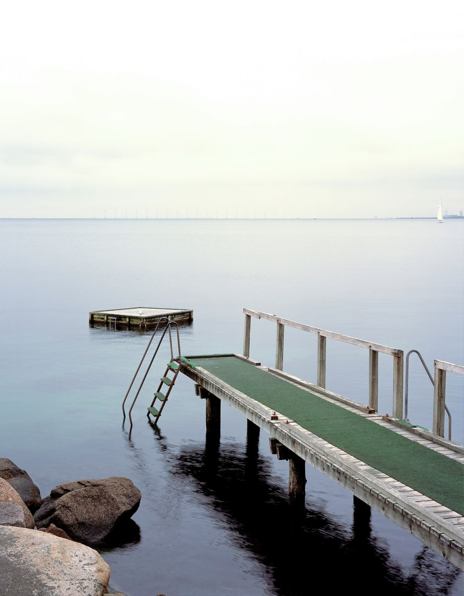 Swimming jetty