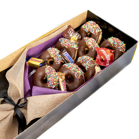 Dessert Boxes - Bouquet of Chocolate Donuts