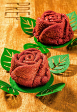 Load image into Gallery viewer, Red velvet flower cake