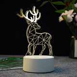 Creative 3D LED Illusion Lamps - Makes a great gift!