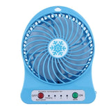 Battery Powered Personal Desk Fan for Home or Office - choose your favorite color to match your style.