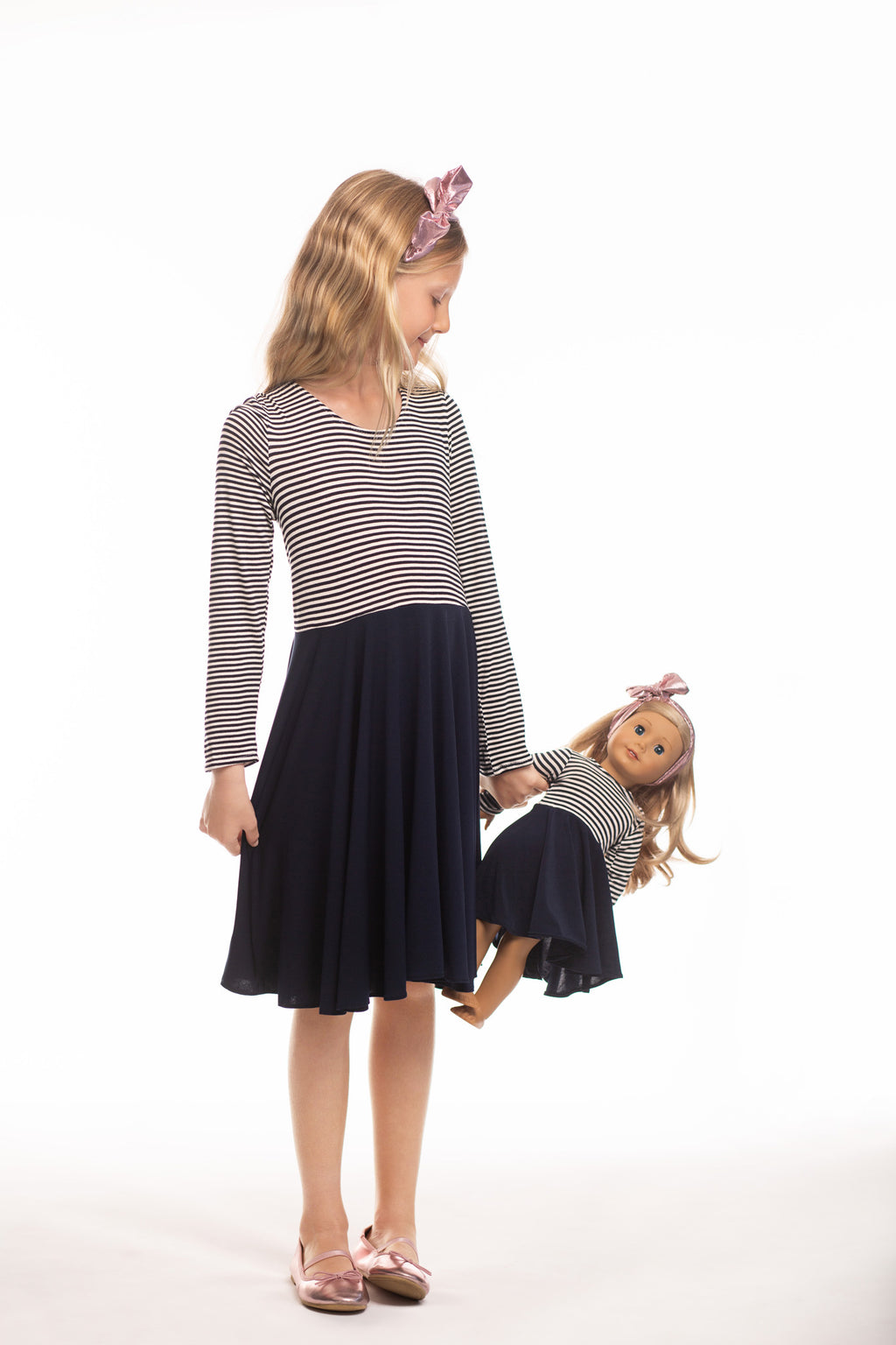 Matching Girl & Doll Classic Dress