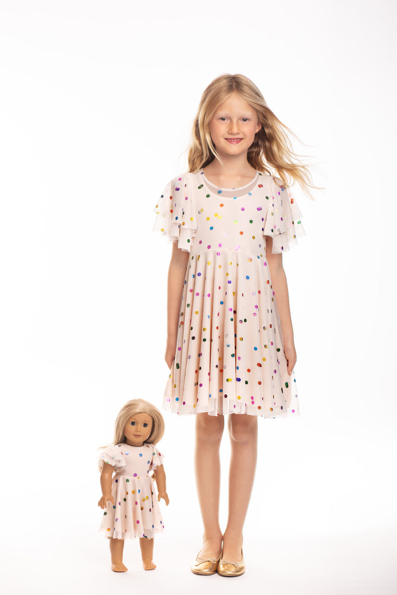 Matching Girl & Doll Party Dress
