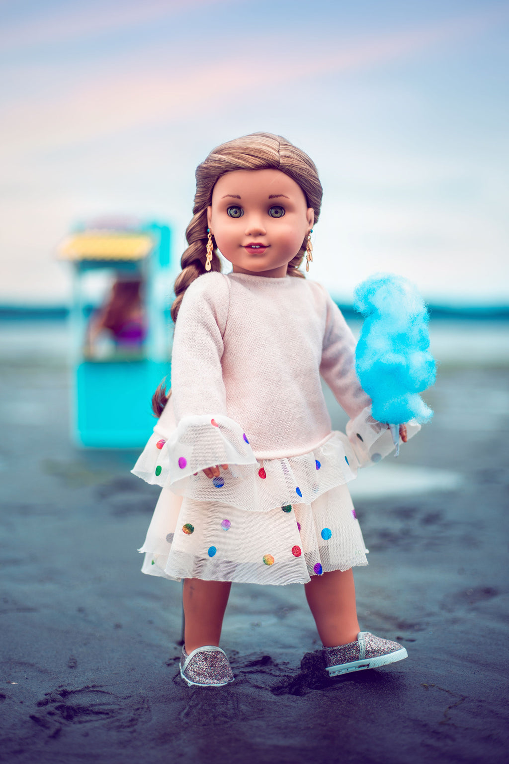 Ruffle Doll Sweatshirt