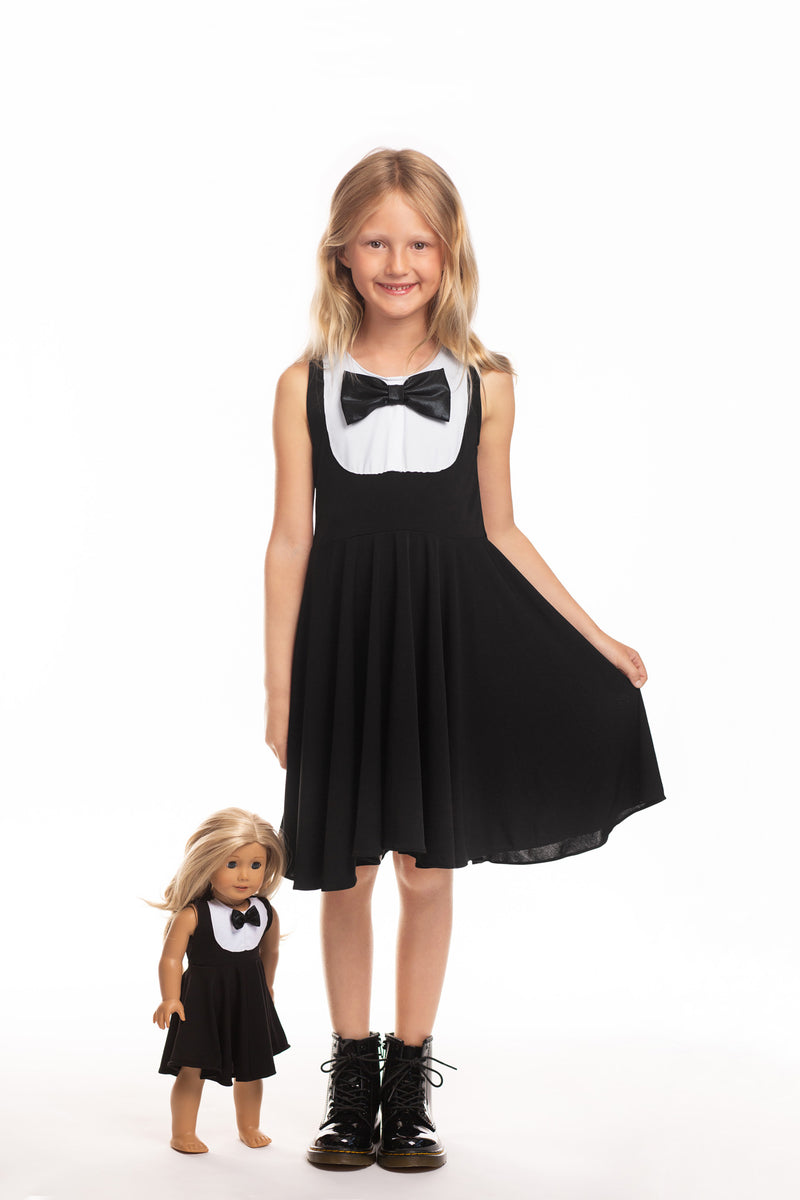 Matching Girl & Doll Tuxedo Dress
